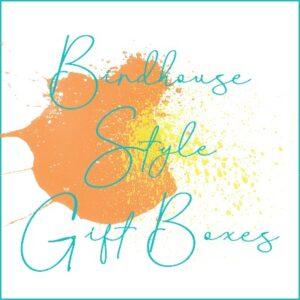 Birdhouse Style Gift Boxes