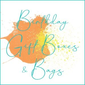 Birthday Gift Bags & Boxes