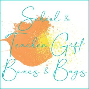 School & Teacher Gift Bags & Boxes