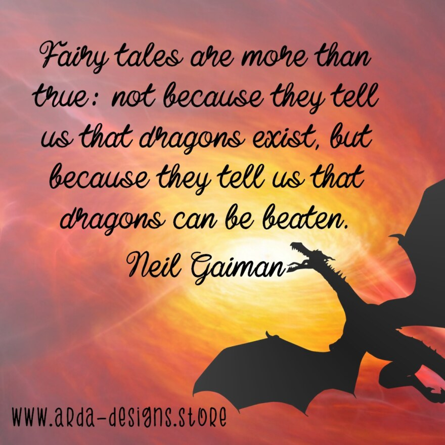 Dragons – Neil Gaiman 150dpi