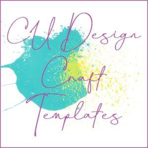 CU Design Craft Templates